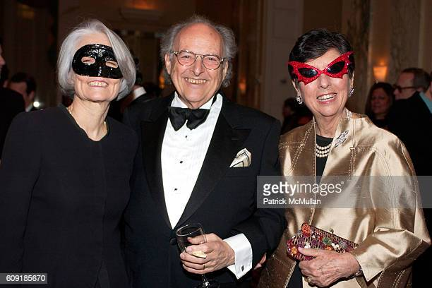 Masquerader and Masquerader attend The Jewish Museum's Masked Ball in Celebration of Purim at Waldorf Astoria on February 27 2007 in New York City
