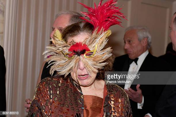Masquerader attends The Jewish Museum's Masked Ball in Celebration of Purim at Waldorf Astoria on February 27 2007 in New York City