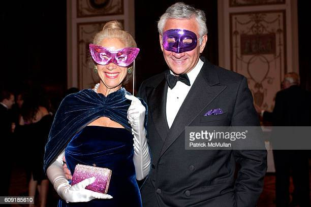 Masqueraders attends The Jewish Museum's Masked Ball in Celebration of Purim at Waldorf Astoria on February 27 2007 in New York City