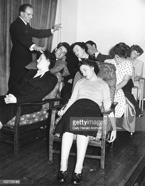 Mass Hypnotism at Enfield 6 November 1951 Mass Hypnotism at Enfield 6 November 1951 Douglas Watson the hypnotist at work