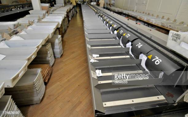 Mass mail operation center place
