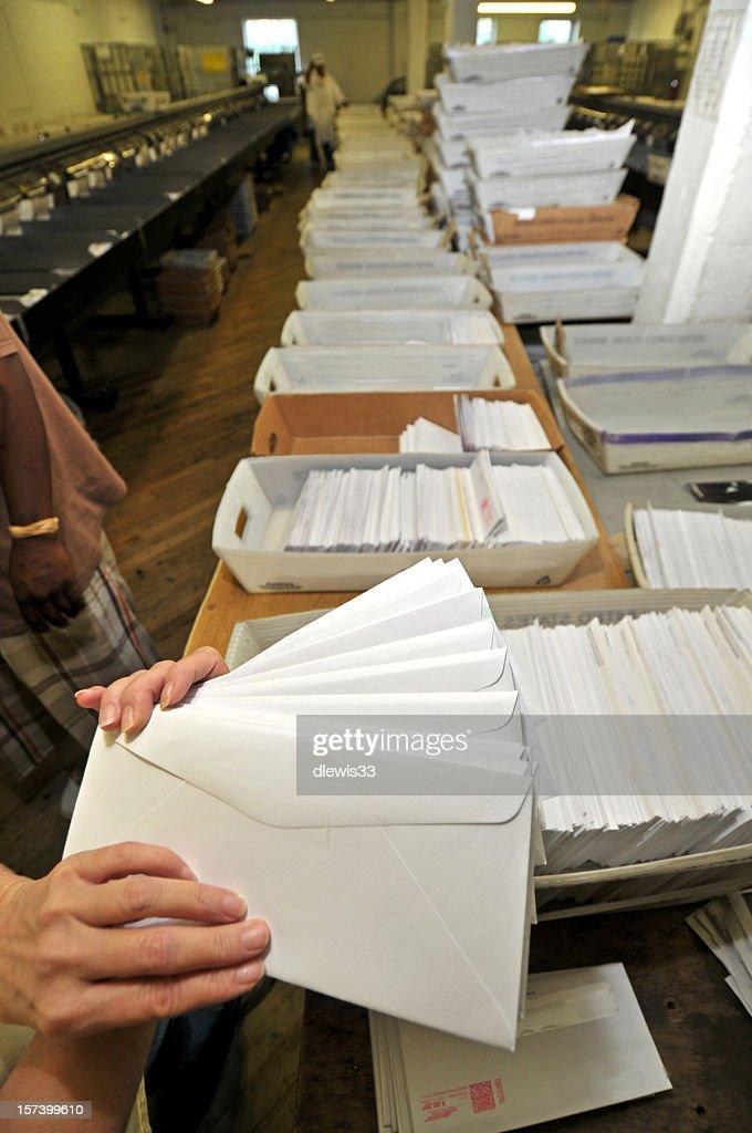 Mass Mail Operation : Stock Photo