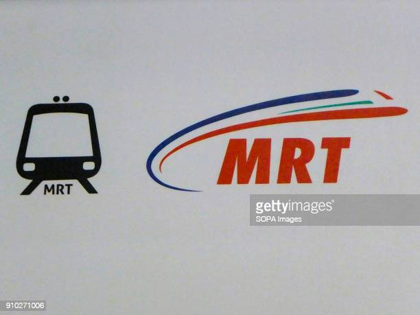 Mass Rapid Transit sign is seen at Kuala Lumpur Kuala Lumpur or commonly known as KL is the national capital for Malaysia and is the fastest growing...