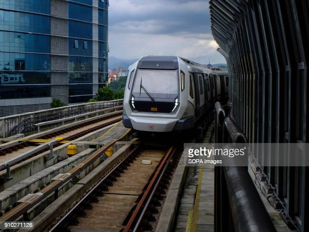 Mass Rapid Transit train is seen on its railway at Kuala Lumpur Kuala Lumpur or commonly known as KL is the national capital for Malaysia and is the...