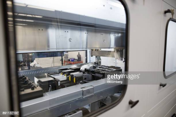 A mass spectrometre is seen in the laboratory of the Centre for Commercialization of Regenerative Medicine at the MaRS Discovery District in Toronto...