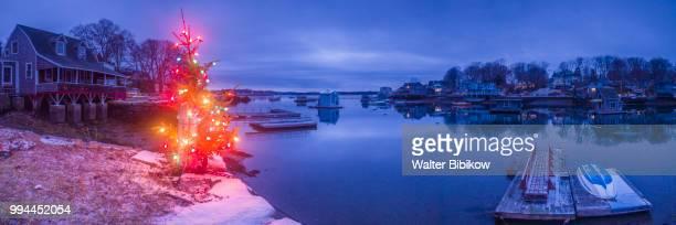 Massachusetts, Annisquam, Lobster Cove, Christmas Tree