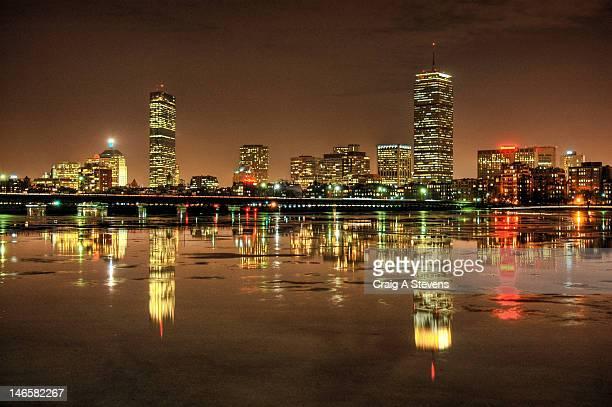 Massachusetts Ave Bridge and Boston