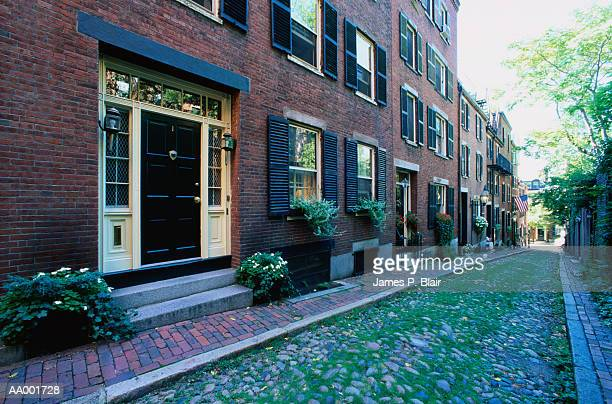 USA, Massachusetts, Boston, Acorn Street