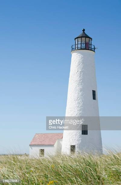 USA, Massachusetts, Nantucket Island, Great Point Lighthouse