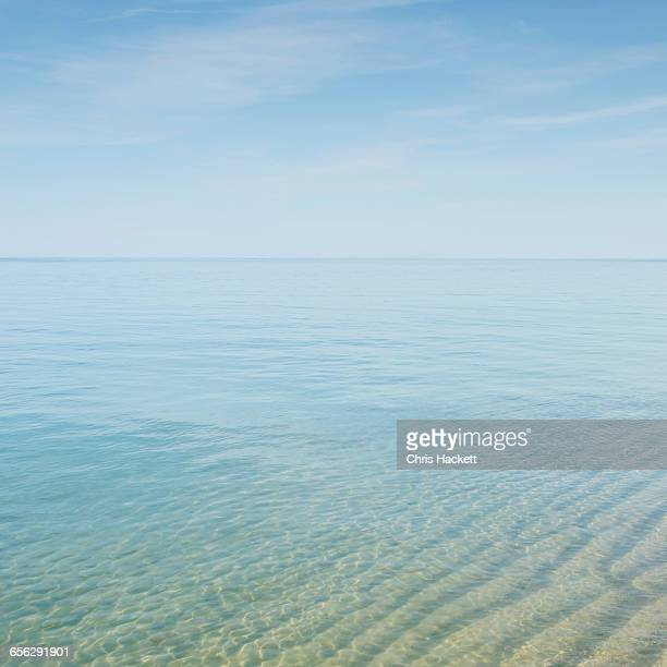 usa, massachusetts, seascape with transparent water at cape cod - hackett stock photos and pictures