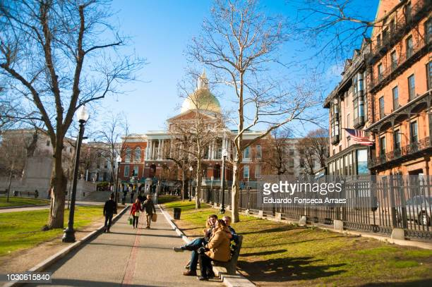 massachusetts state capitol - state stock pictures, royalty-free photos & images