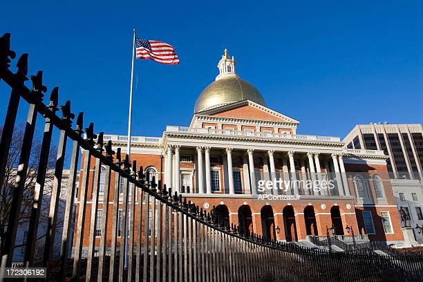 Massachusetts State House and Capital, USA