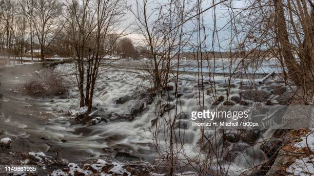 massachusetts-north uxbridge-whitin pond-mumford river - brook mitchell stock pictures, royalty-free photos & images