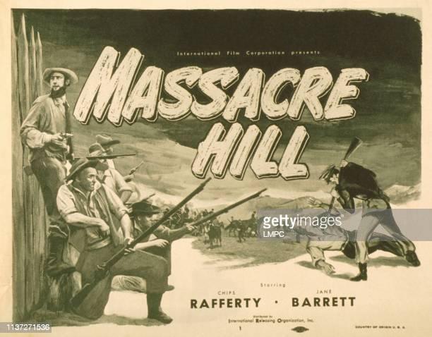 Massacre Hill, poster, , Chips Rafferty , 1949.