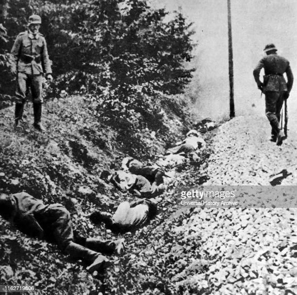 Massacre in Ciepielow Poland was one of the largest best documented war crimes of the Wehrmacht during its Invasion of Poland On September 8 after...