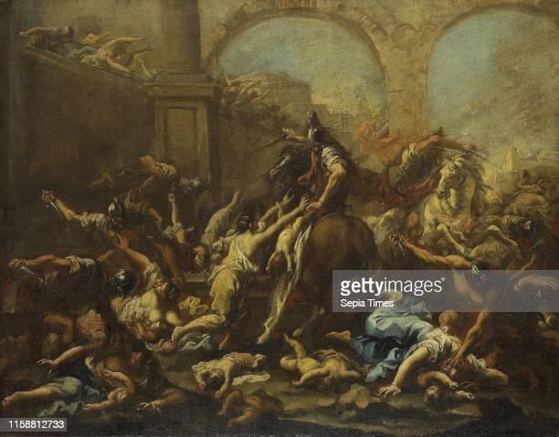 Massacre of the Innocents Alessandro Magnasco 1715 1740
