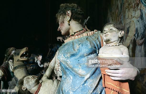 Massacre of the Innocents Chapel XI Sacred Mountain of Varallo Piedmont Italy 15th17th century