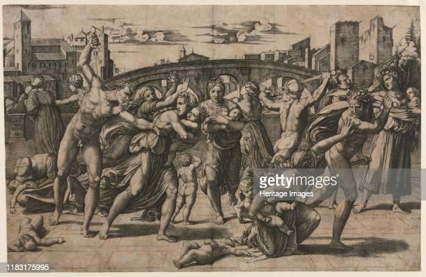 Massacre of the Innocents circa 15111512 Creator Marcantonio Raimondi