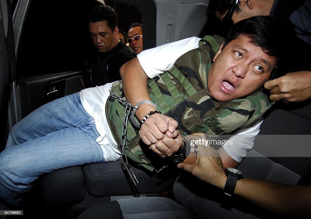 Massacre suspect Datu Unsay Mayor Andal : News Photo