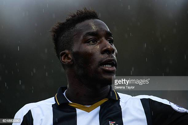 Massadio Haidara of Newcastle during the Premier League 2 Match between Newcastle United and West Bromwich Albion at Whitley Park on November 21 2016...