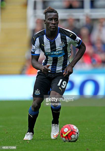 Massadio Haidara of Newcastle United during the Barclays Premier League match between Newcastle United and Southampton at St James' Park on August 09...