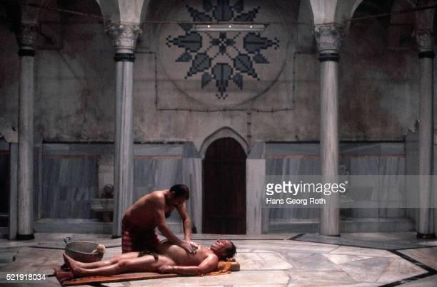 Massage at Turkish Baths