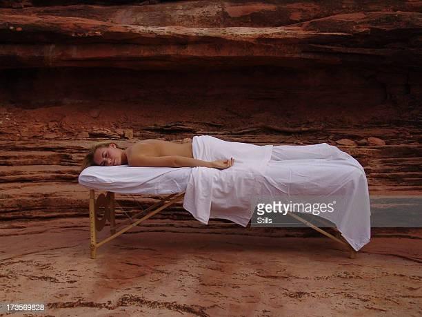 massage in der Natur