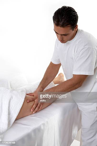 massage - sensual massage stock photos and pictures