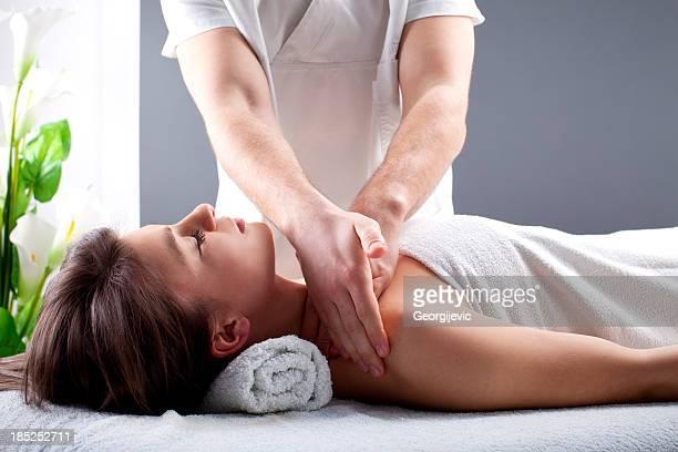 massage - erotische massage stock-fotos und bilder