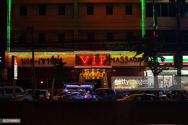 VIP-shop bei Nacht