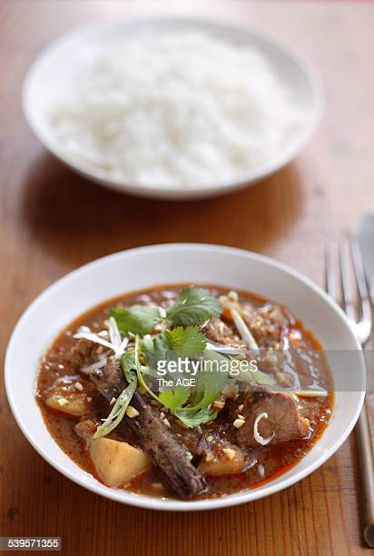 Massaman Curry by Brigitte Hafner Styling by Caroline Velik 26 April 2005 The AGE Picture by MARINA OLIPHANT