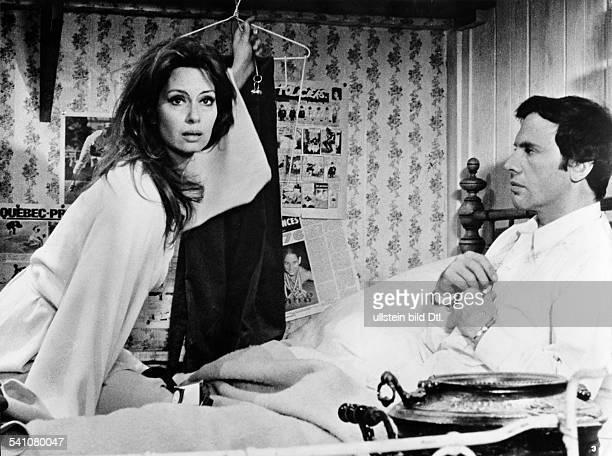 Massari Lea *Schauspielerin I im Film 'Treibjagd' mit JeanLouis Trintignant Regie Rene Clement 1972