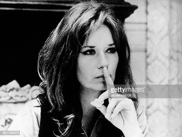 Massari Lea Schauspielerin I in 'Die Witwe' um 1972