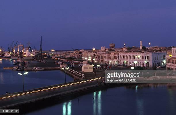 Massawa city and port in Eritrea