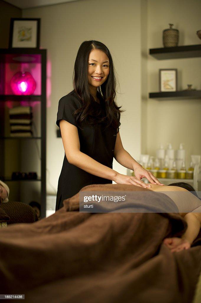 masseuse : Stock Photo