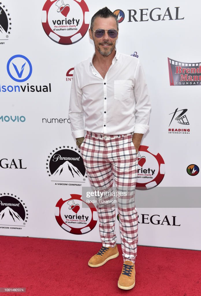 Massi Furlan attends the 8th Annual Variety Children's Charity of SoCal Texas Hold 'Em Poker Tournament at Paramount Studios on July 18, 2018 in Los Angeles, California.