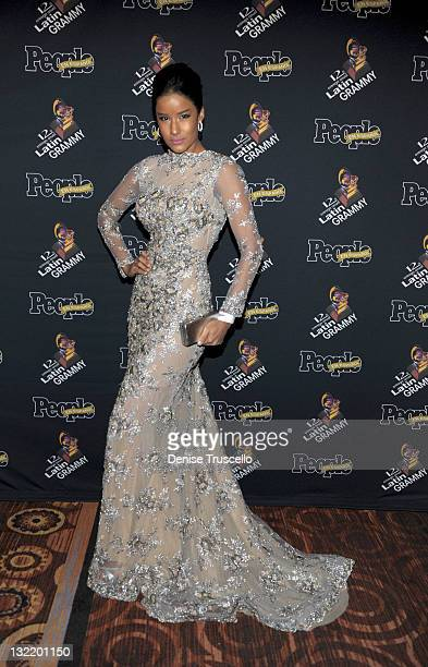 Massiel Tavera attends People En Espanol's Celebrity Lounge at the Latin Grammy After Party on November 10 2011 in Las Vegas Nevada