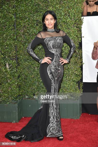 Massiel Taveras attends the 49th NAACP Image Awards Arrivals at Pasadena Civic Auditorium on January 15 2018 in Pasadena California