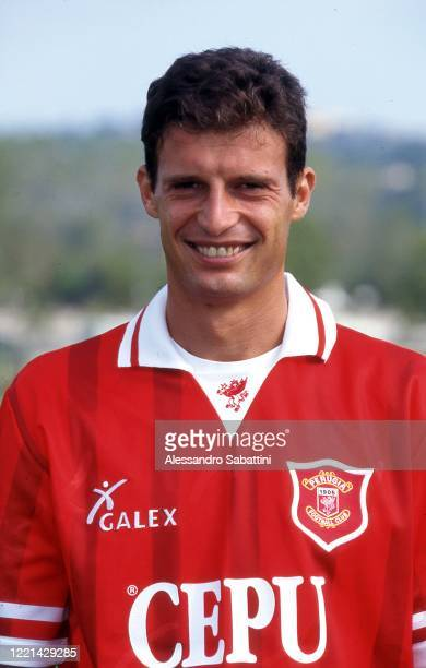 Massimiliano Allegri of Perugia poses for photo during the Serie A, Italy.
