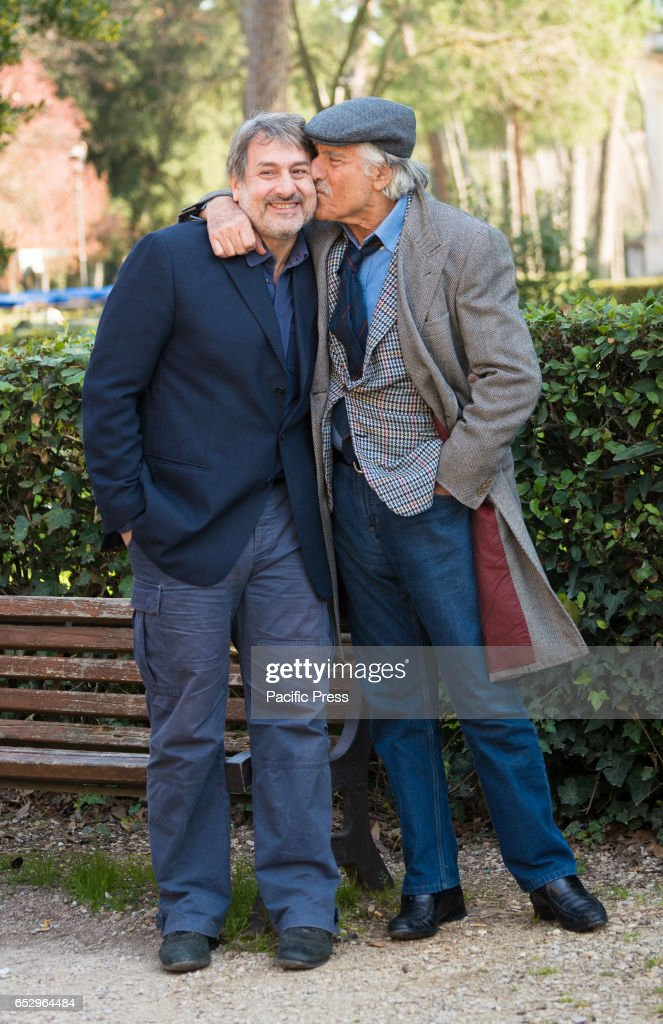 (L-R) Massimiliano Buzzanca and Lando Buzzanca attends the...
