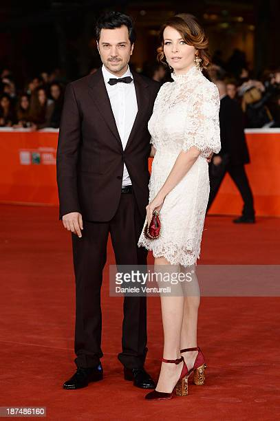 Massimiliano D'Epiro and Violante Placido attend 'Le Tentazioni Del Dottor Antonio' Premiere Restored with the contribuiton of Dolce Gabbanaduring...