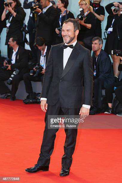 Massimiliano Gallo attends a premiere for 'Per Amor Vostro' during the 72nd Venice Film Festival at Sala Grande on September 11 2015 in Venice Italy