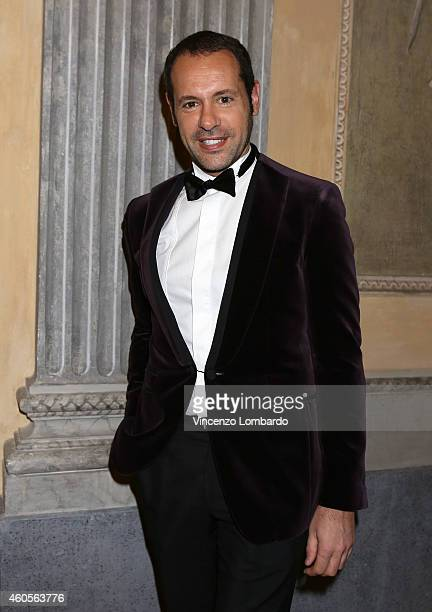 Massimiliano Giornetti attends the Fondazione IEO CCM Christmas Dinner For on December 16 2014 in Monza Italy