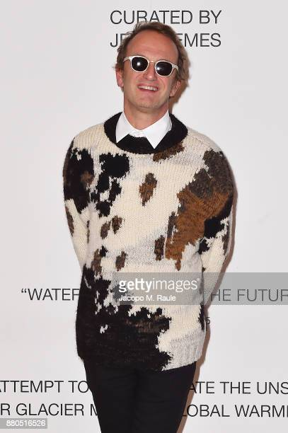 Massimiliano Locatelli attends Michel Comte Black Light White Light Opening at Triennale di Milano on November 27 2017 in Milan Italy