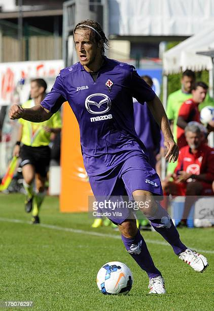 Massimo Ambrosini of ACF Fiorentina in action during the preseason friendly match between AC Fiorentina and Team Trentino on July 20 2013 in Trento...