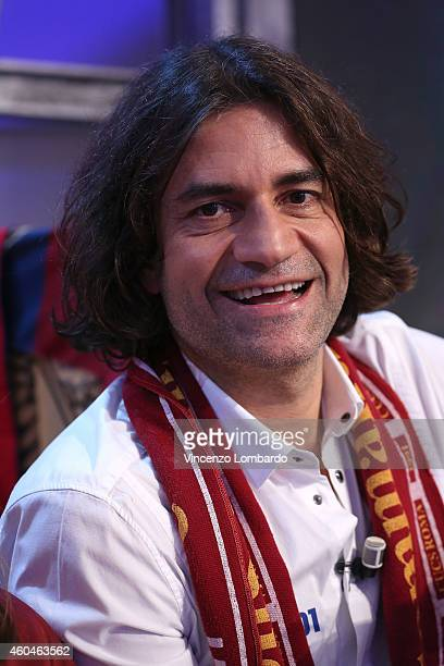 Massimo Bagnato attends the 'Quelli Che Il Calcio' Tv Show - on December 14, 2014 in Milan, Italy.
