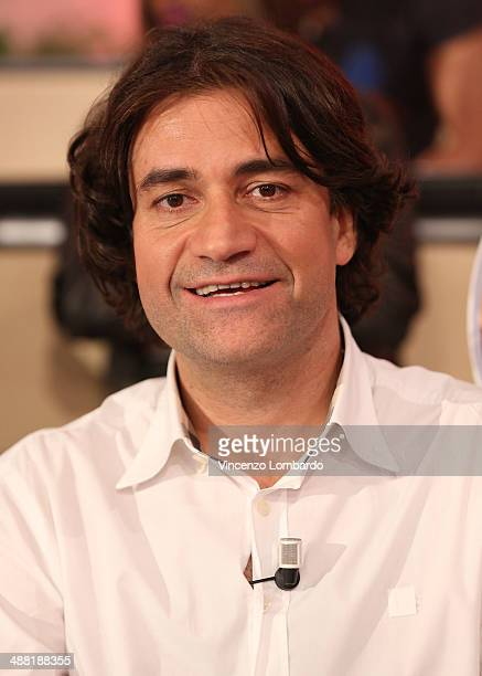 Massimo Bagnato attends the 'Quelli che il Calcio' TV Show on May 4, 2014 in Milan, Italy.