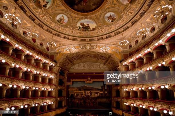 Massimo Bellini theatre Catania Sicily italy Europe