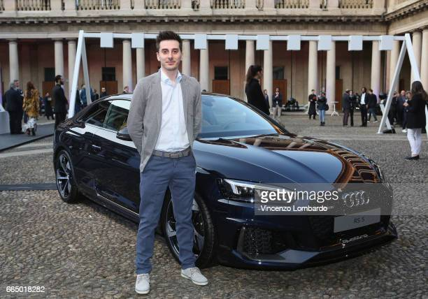 Massimo Bianchini attends Audi City Lab on April 5 2017 in Milan Italy