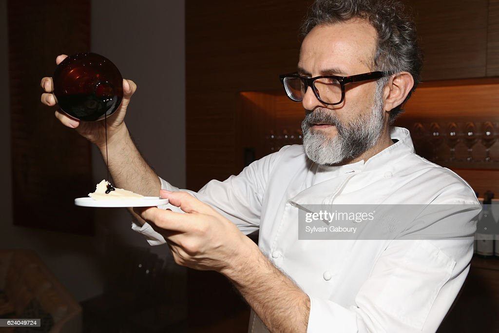 Edible Schoolyard NYC Annual Harvest Dinner with Chef Massimo Bottura, Hosted by Lela Rose : News Photo
